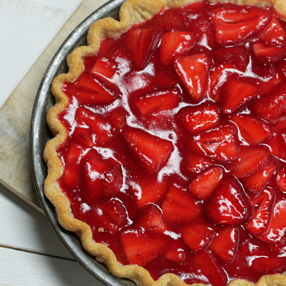 Classic Strawberry Pie Recipe Myrecipes