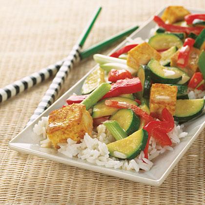 Coconut-Curry Tofu Stir-Fry