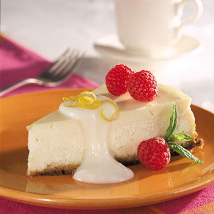 Lemon-Berry Cheesecake