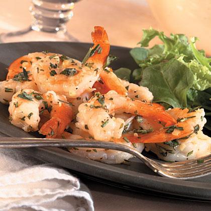 Easy Rosemary Shrimp