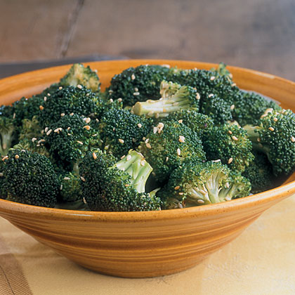 Sesame Steamed Broccoli
