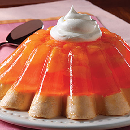 Low-Fat Mandarin Mousse Mold