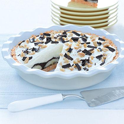 Peanut Butter-Chocolate Banana Cream Pie