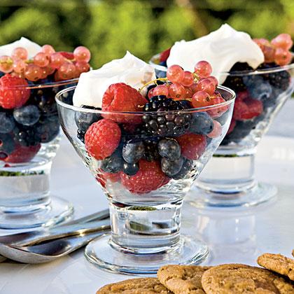 Berries with Mascarpone