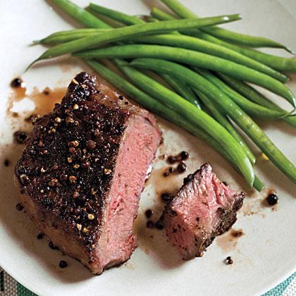 Balsamic Steak au Poivre