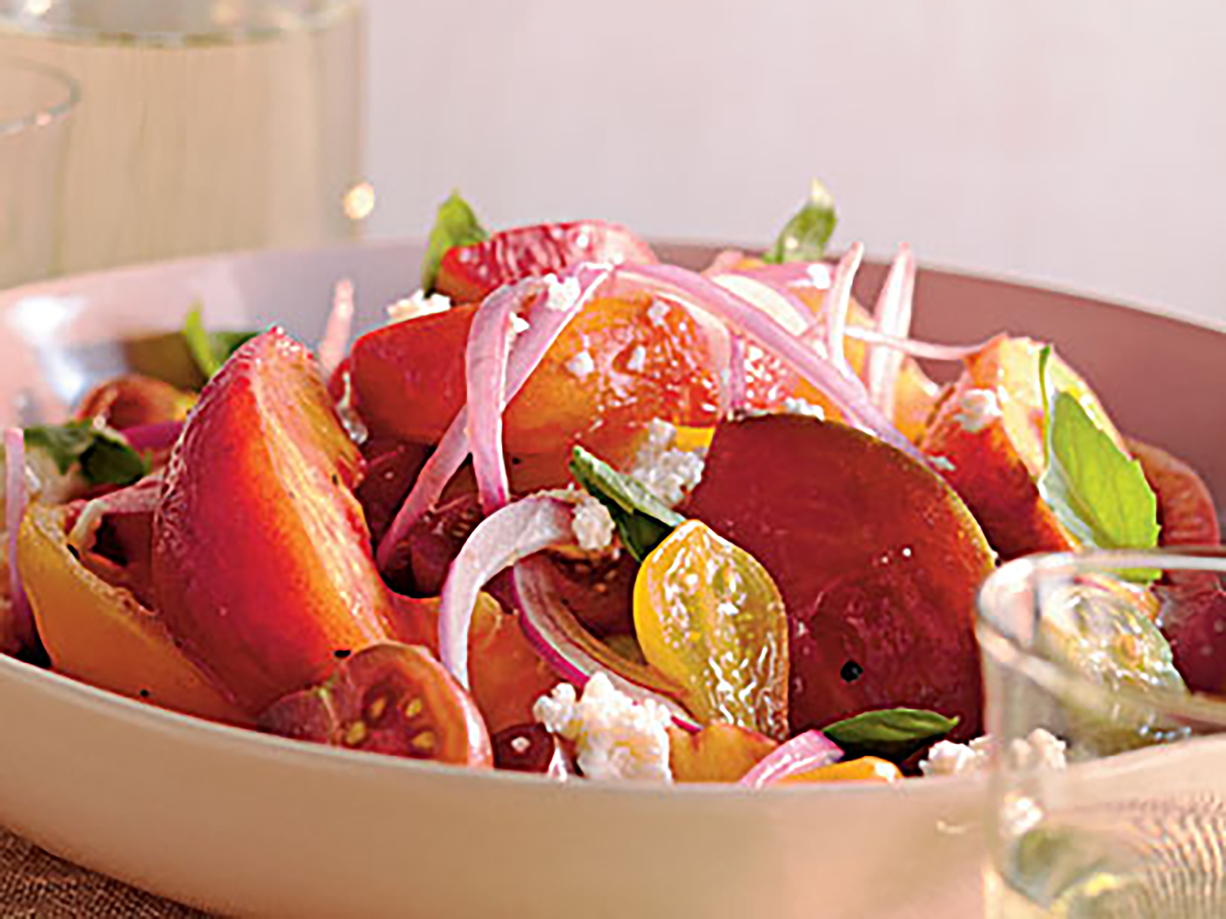ck - Summer Peach and Tomato Salad (large)