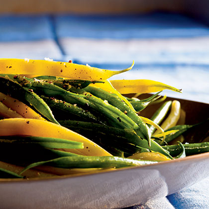 Herbed Green and Wax Beans