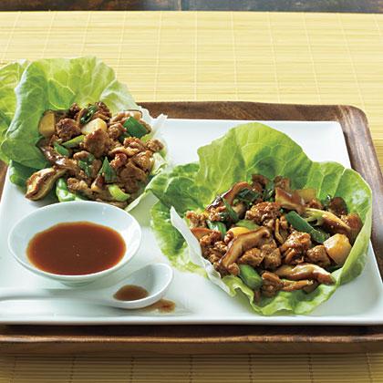 Asian Lettuce Cups