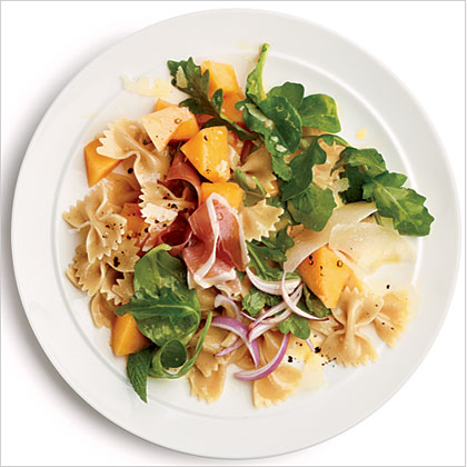 Prosciutto and Melon Pasta Salad
