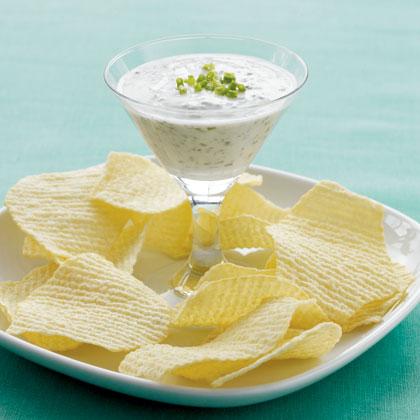 Garlic & Herb Yogurt Dip