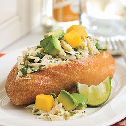 Caribbean Crab Sandwich