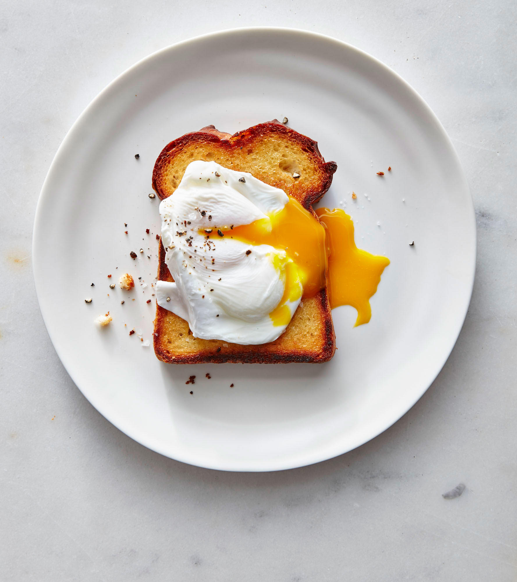 Shallow-Poached Eggs