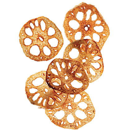 Five-Spice Lotus Chips