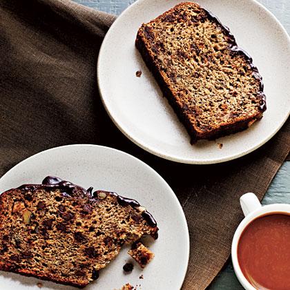 Banana-Chocolate-Walnut Bread