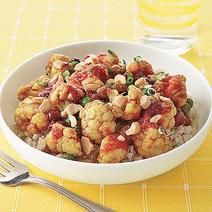 Cauliflower-Cashew Curry