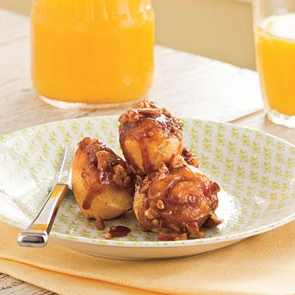 Bite-Size Cinnamon-Pecan Twirls
