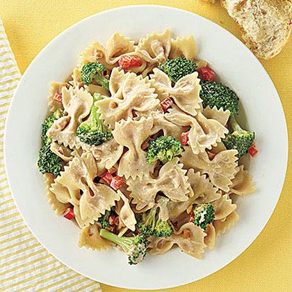 Peanut-Broccoli Pasta