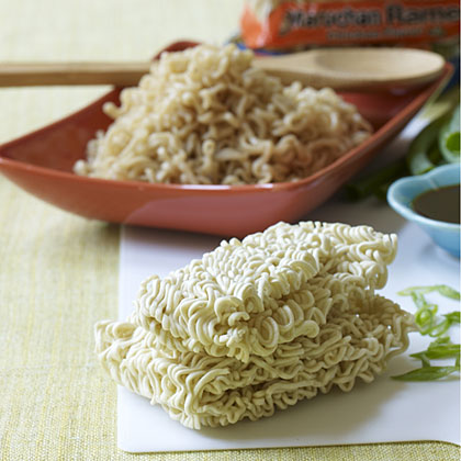 Ramen noodles are quick to make and very versatile.