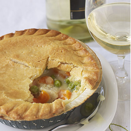 Marie Callender's Chicken Pot Pie with 2009 Alice White Lexia.