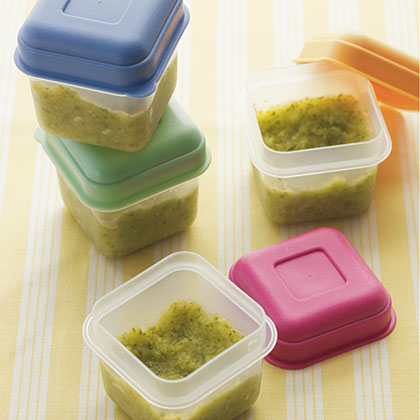 One benefit to making your own baby food is the money you save.
