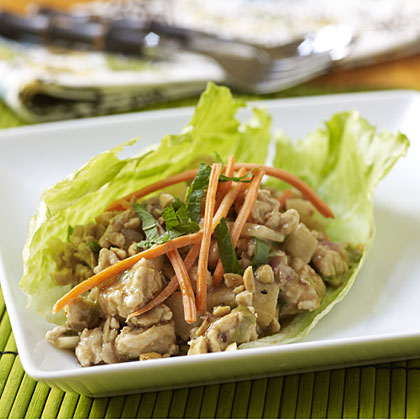 Grand Prize Winner Perfect Pear Asian Turkey Lettuce Wraps