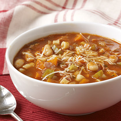 Quick and Hearty Pasta Fagioli Soup
