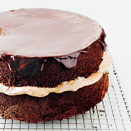Chocolate-Orange Layer Cake