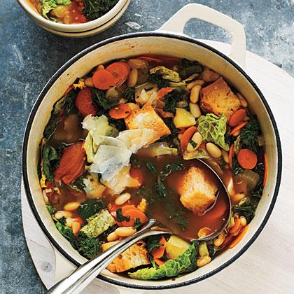 Ribollita (Italian Bread Soup)