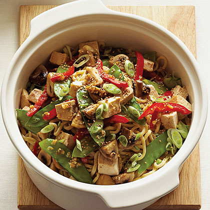 Turkey Noodle Stir-Fry