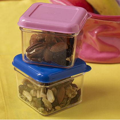 One of our editors' favorite kids lunchbox ideas, Comfort Crunch snack mix.