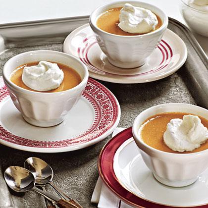 Butterscotch Pots de Creme