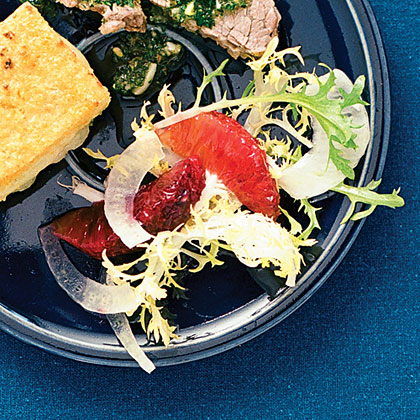 Frisée with Blood Oranges and Fennel