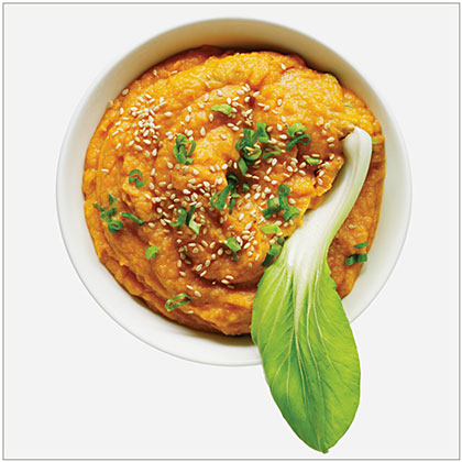 Miso, Sesame, and Sweet Potato Dip