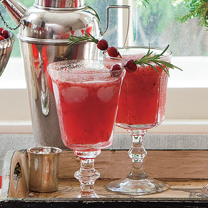 Frozen Cranberry-Moonshine Lemonade