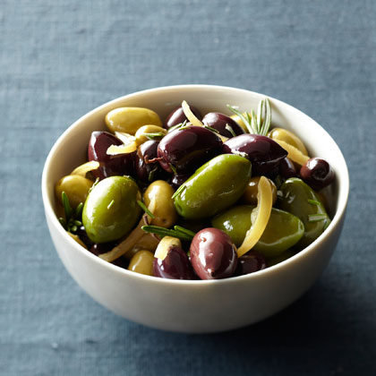 Olives + Preserved Lemon
