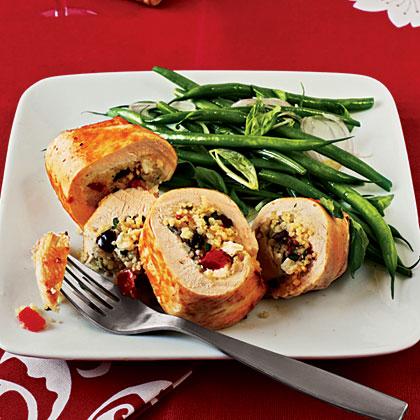 Couscous-Stuffed Chicken
