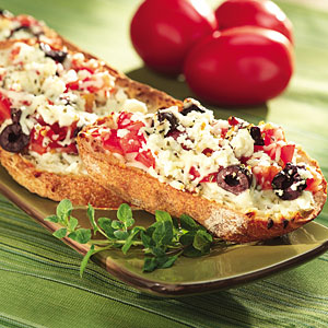 Mediterranean Pizza Bread