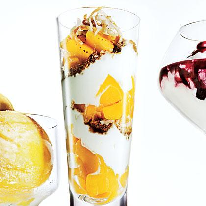Mango-Ginger Parfaits