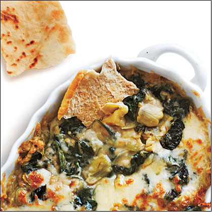 Artichoke, Spinach, and White Bean Dip