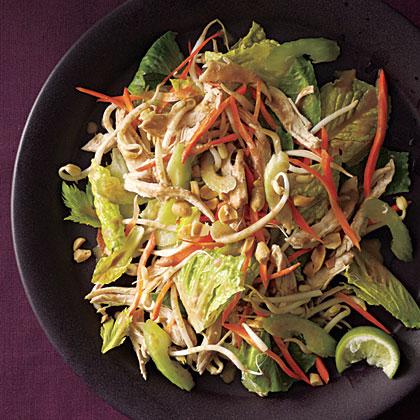 ck-Thai Chicken Salad with Peanut Dressing
