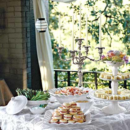 Elegant Reception at Home