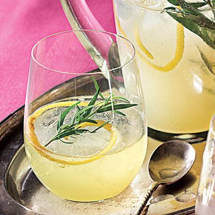 Lemon-Gin Sparkling Cocktails