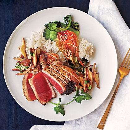 Sesame Albacore Tuna