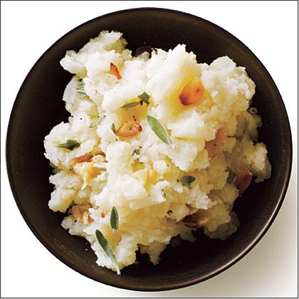 Roasted Garlic Smashed Potatoes
