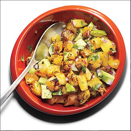 Grilled Pineapple-Avocado Salsa