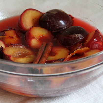 Spiced Honeyed Apricots