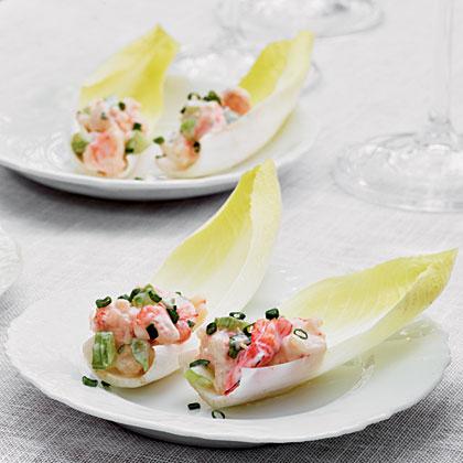 Shrimp Salad-Stuffed Endive