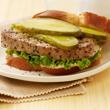Stackers Asian Grilled Tuna Sandwich