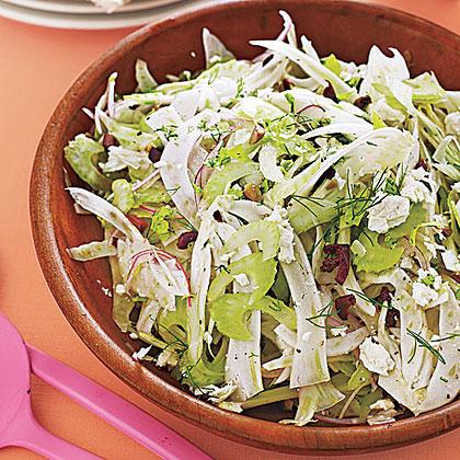 Celery-Fennel Salad with Olives