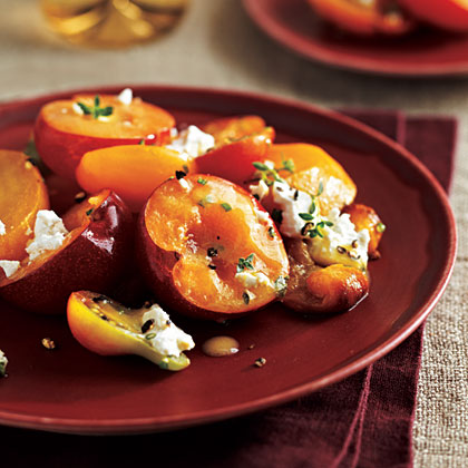 Yellow Plum Salad